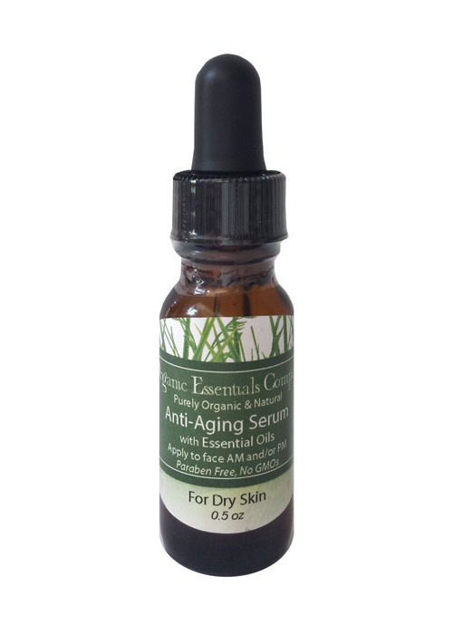 Essential Oils for Dry Skin Anti-aging Serum