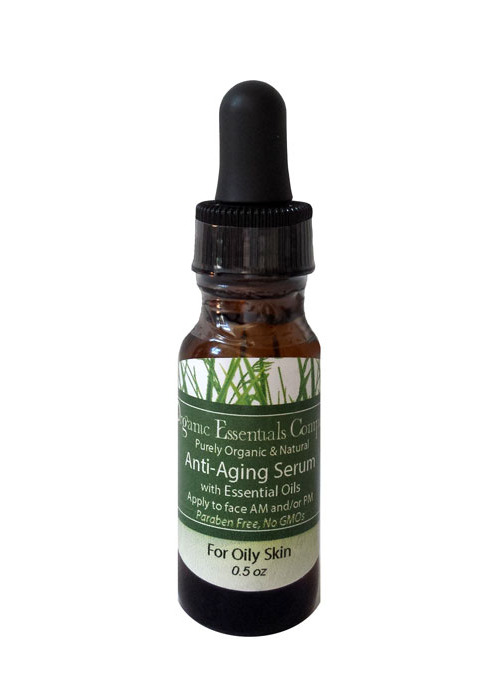 Anti-aging Essential Oil Serum for Oily Skin