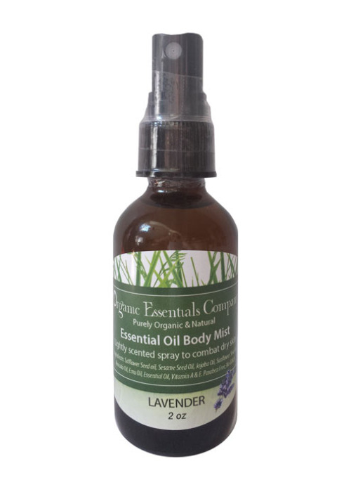 Essential Oil Body Mist - Lavender