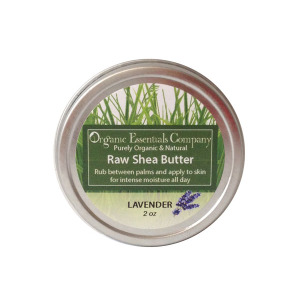 Raw Shea Butter - Lavender Essrential Oil