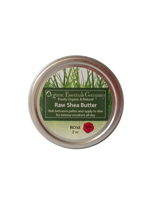 Raw Shea Butter with Rose Essential Oil
