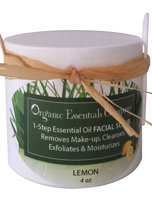 1-Step Facial Scrub with Lemon