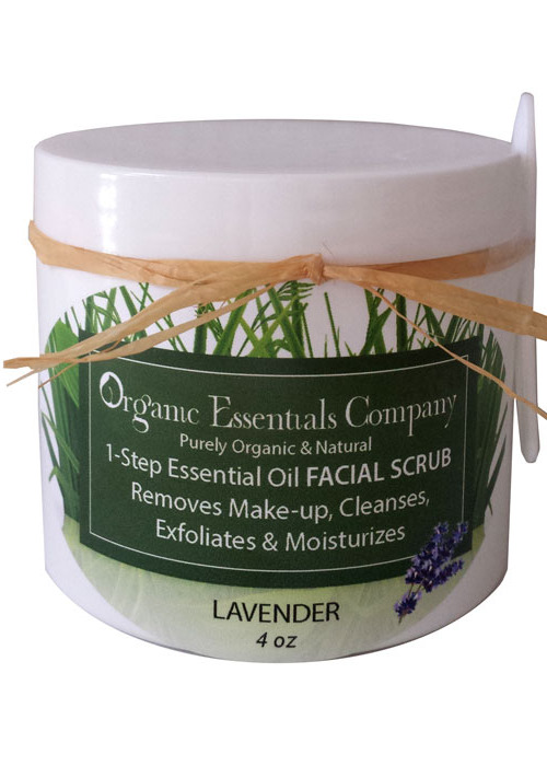 1-Step Facial Scrub with Lavender