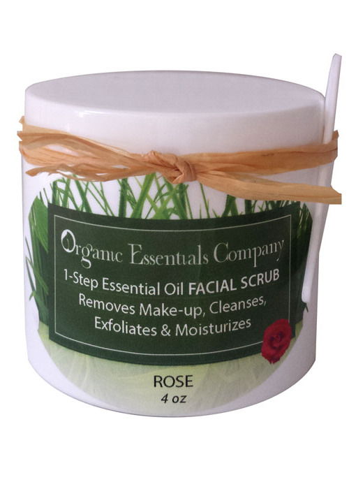 1-Step Facial Scrub with Rose
