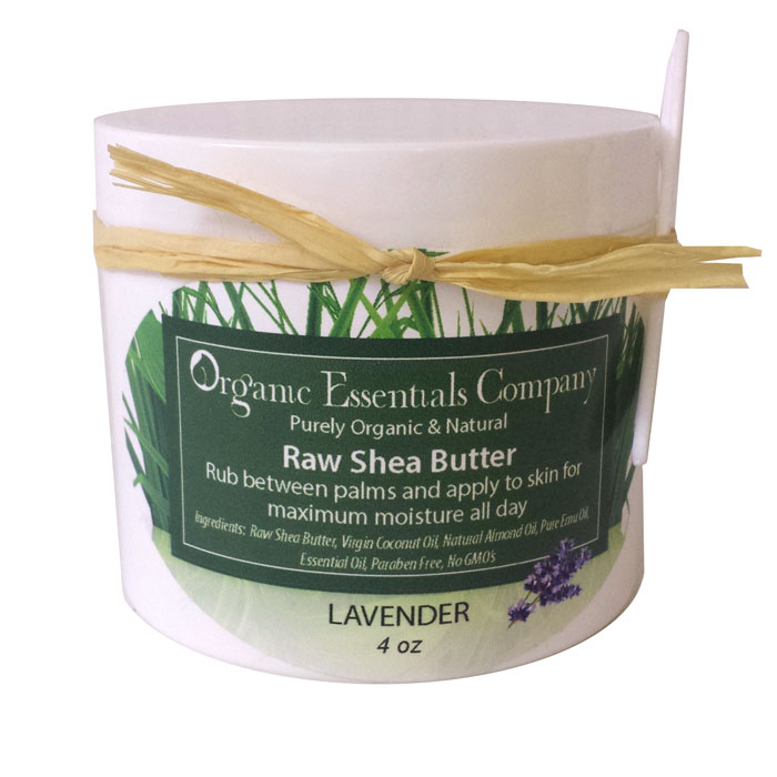 Raw Shea body butter with Lavender