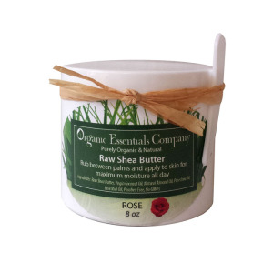 Raw Shea Body Butter Rose