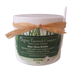 Raw Shea body butter with Jasmine